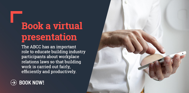 book a virtual presentation promo image