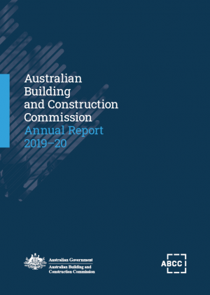 ABCC Annual Report Cover 2019-20